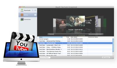 isky Software per Mac - Scarica video da YouTube e Google Videos