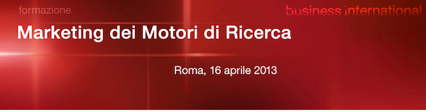 Corsi di web marketing roma: Marketing dei Motori di Ricerca