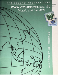 second world wide web conference guide, Chicago 1994