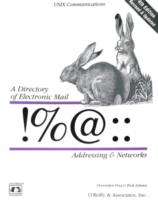 A directory of Electronic Mail O'Reilly & Associates