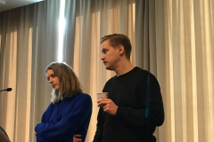 Pia Ølstad and Linus Hjellström at RIMC 2018