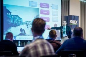 Sante J. Achille at SMX London 2015