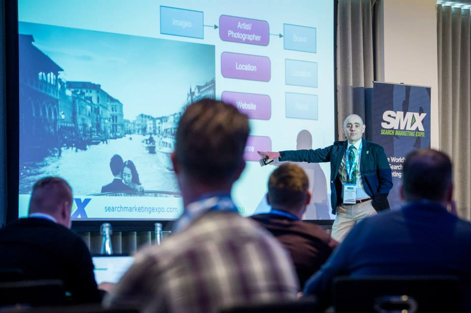 Sante J. Achille at SMX London 2015