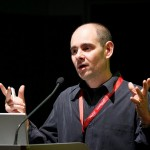 Sante J. Achille, Search Marketing Consultant speaking at a conference