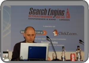 Sante Preparing during Search Engine Strategies London 2010
