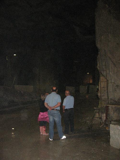 A discutere di web e motori di ricerca in una cava di marmi a Carrara