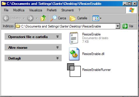 Windows resize - per modificare le dimensioni di finestre fisse in Windows