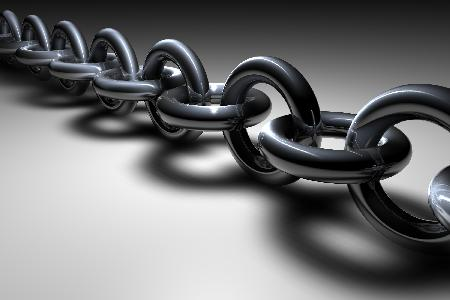 Links of a Chain like links that strengthen your blog