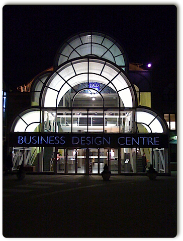 Business Design Centre di Londra, dove si è svolto il Search Engine Strategies di Londra, 2009