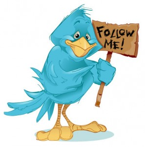 Follow me on Twitter Image