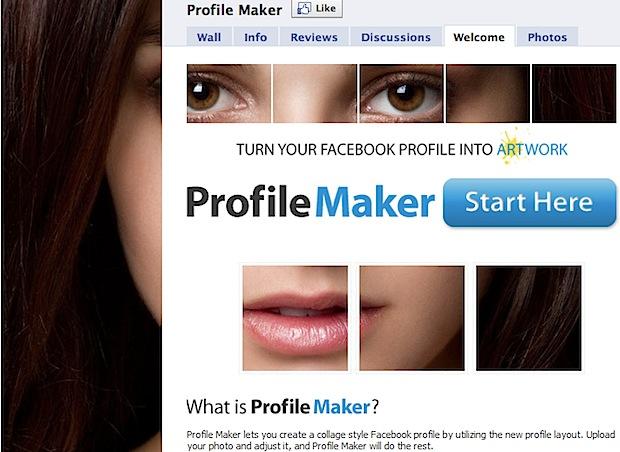 Applicazione per Personalizzare la tua Pagina Facebook