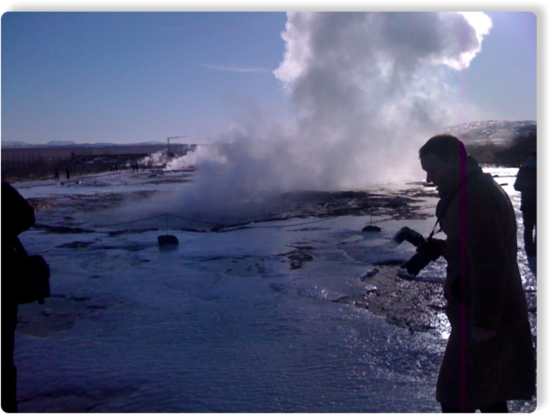 Another photo of the Geyser fields we visited during the RIMC 2011