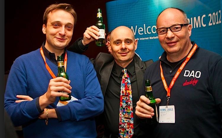 Luca Bove, Sante J. Achille, Cesarino Morellato at RIMC 2012