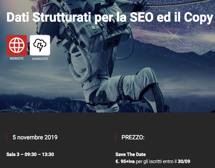 Workshop SEO su Dati Strutturati (Structured Data for SEO)