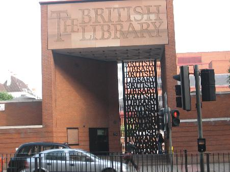 The British Library, sede dell'International Search Summit tenutosi a Londra Maggio, 2008