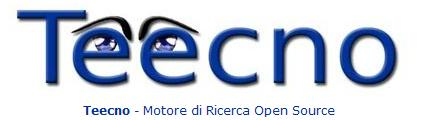 teecno - italian open source search engine in BETA